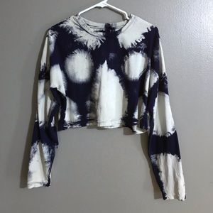 Urban outfitters tie dye crop top S